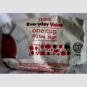 Tesco 1 Cup Teabags (Pack 40)